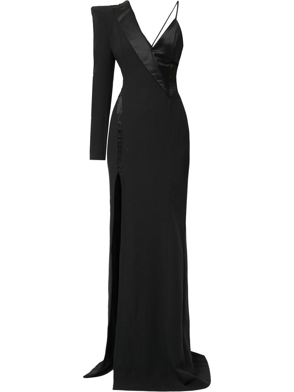 Mugler asymmetric tuxedo gown   Dresses   Pinterest   Gowns and Woman