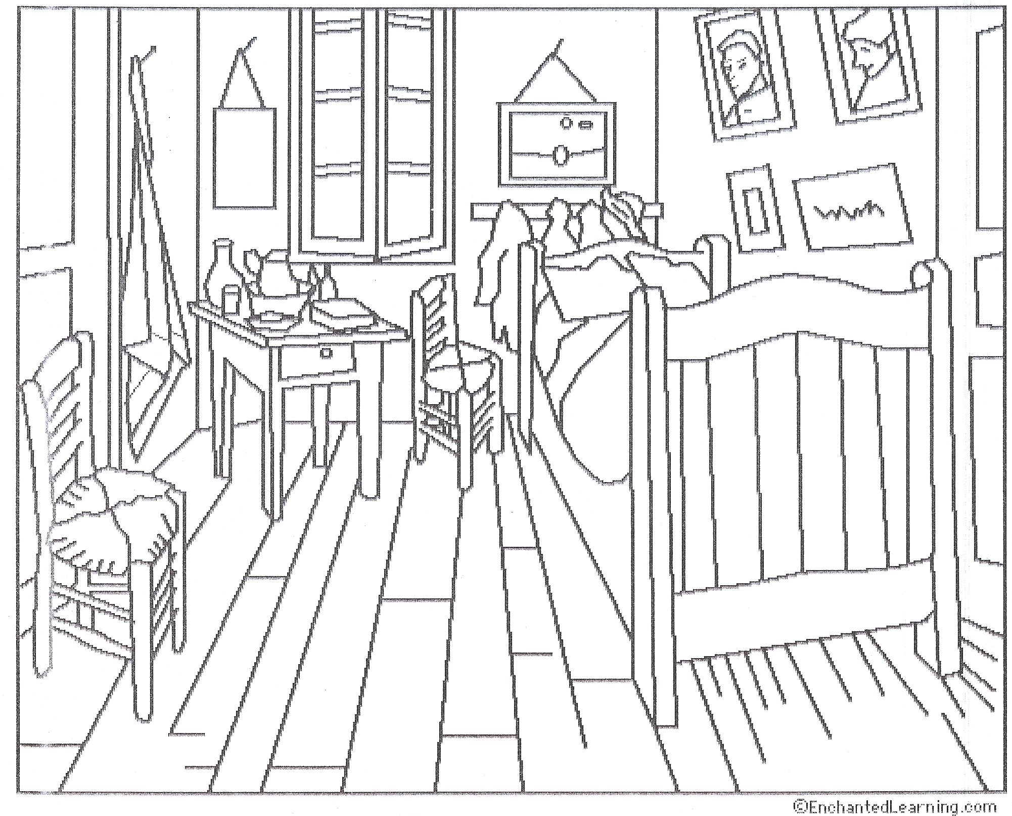 Printables Impressionism Cerca Amb Google Van Gogh Coloring Colorful Art Van Gogh
