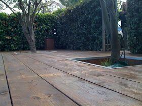 terrasse bois de coffrage