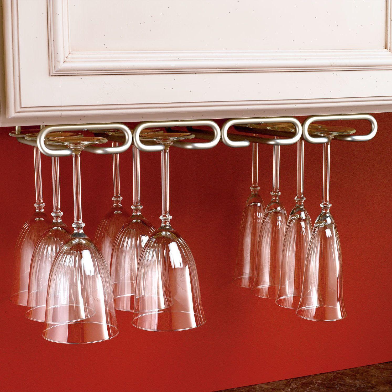 Rev A Shelf Hanging Wine Glass Rack Hanging Wine Glass Rack Stemware Holder Wine Glass Rack