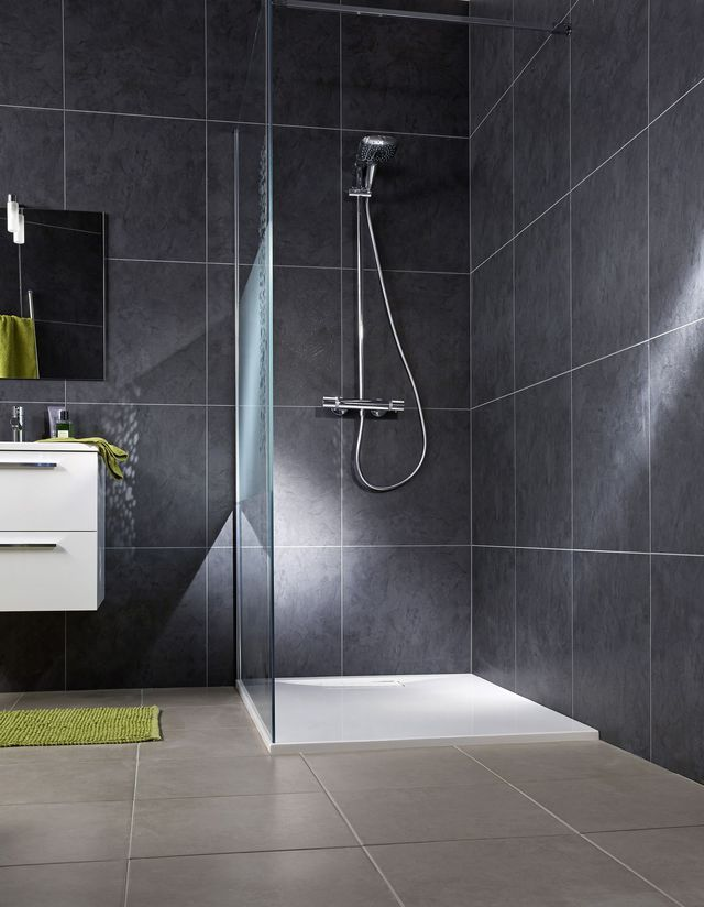 sol et mur salle de bain quoi choisir bathrooms. Black Bedroom Furniture Sets. Home Design Ideas