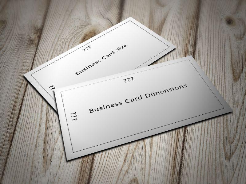 Standard Business Karten Größe Nz Auch Business Karten Größe
