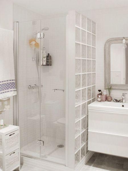 Baño pequeño casa Pinterest Blanco, Inspiración y Baños - decoracion baos pequeos