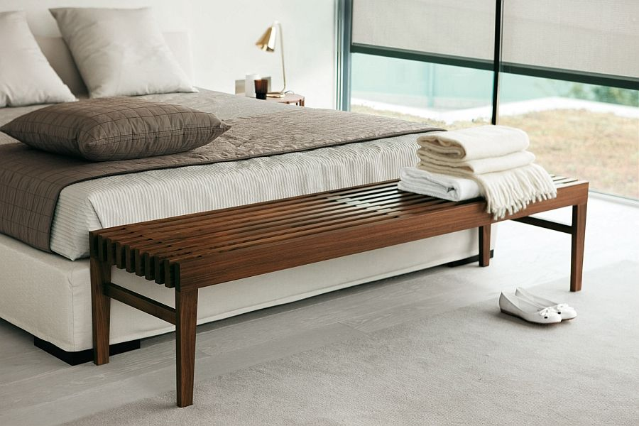 Comfy Contemporary Benches For The Posh Bedroom Bench Modern