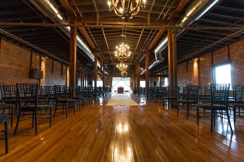 Most Beautiful Industrial Wedding Venues Cannery Ballroom One By Derek Martinez Photography