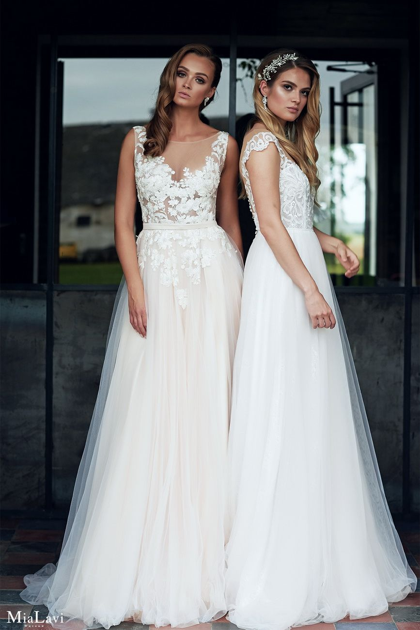 a083cbfb5a Klasyczne suknie ślubne - Mia Lavi Suknia Ślubna Model 1805