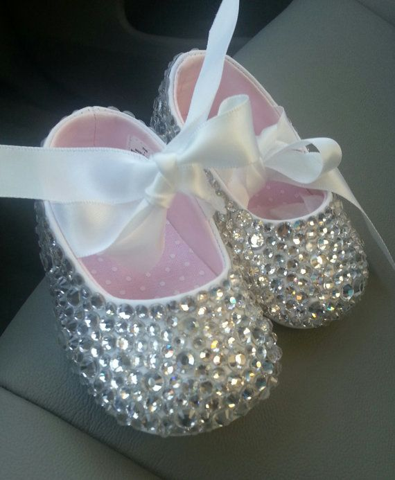 1a92003cc7ab93 Baby Girl Bling Shoes by PoshTots13 on Etsy