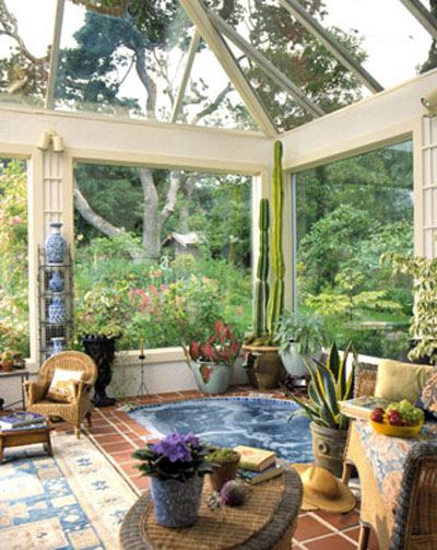 Sunroom Pictures Sunroom Decorating Pictures Of Sunrooms Hot Tub Room Hot Tub Outdoor Indoor Hot Tub