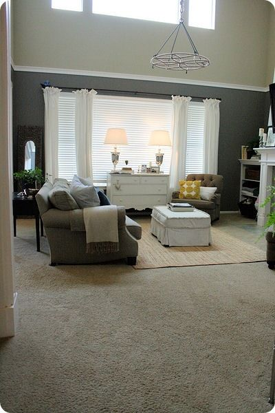 Our Living Room Family Room Home Decor Living Room Paint