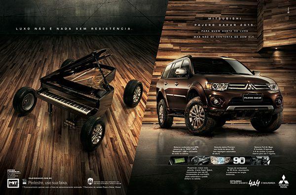 Mitsubishi Pajero Dakar on Platinum FMD