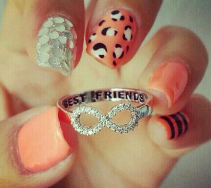Love the nails and the ring