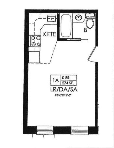 Studio Apartment Floor Plans New York ten of the tiniest apartments for sale in new york city | tiny