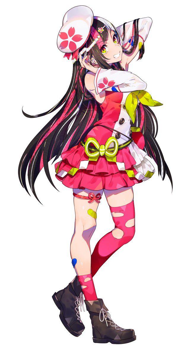 ソニーミュージックレーベルsacra music sacramusic jp の公式キャラクター sacraちゃん そして本日発売のミックスアルバム mix のジャケットイラストを描かせて頂いております anime character design anime art girl anime characters