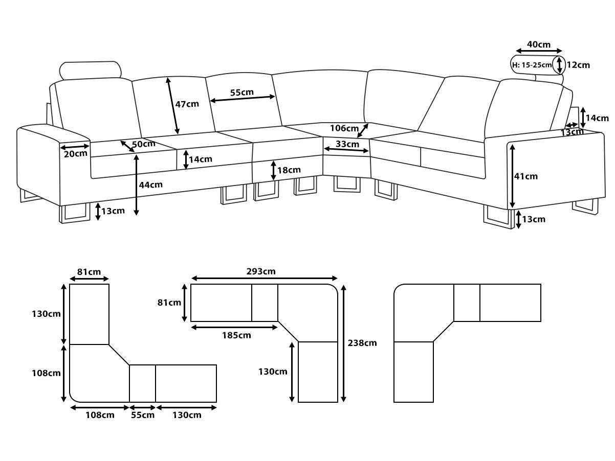 Standard Furniture Dimensions Metric Great Home Furniture ...