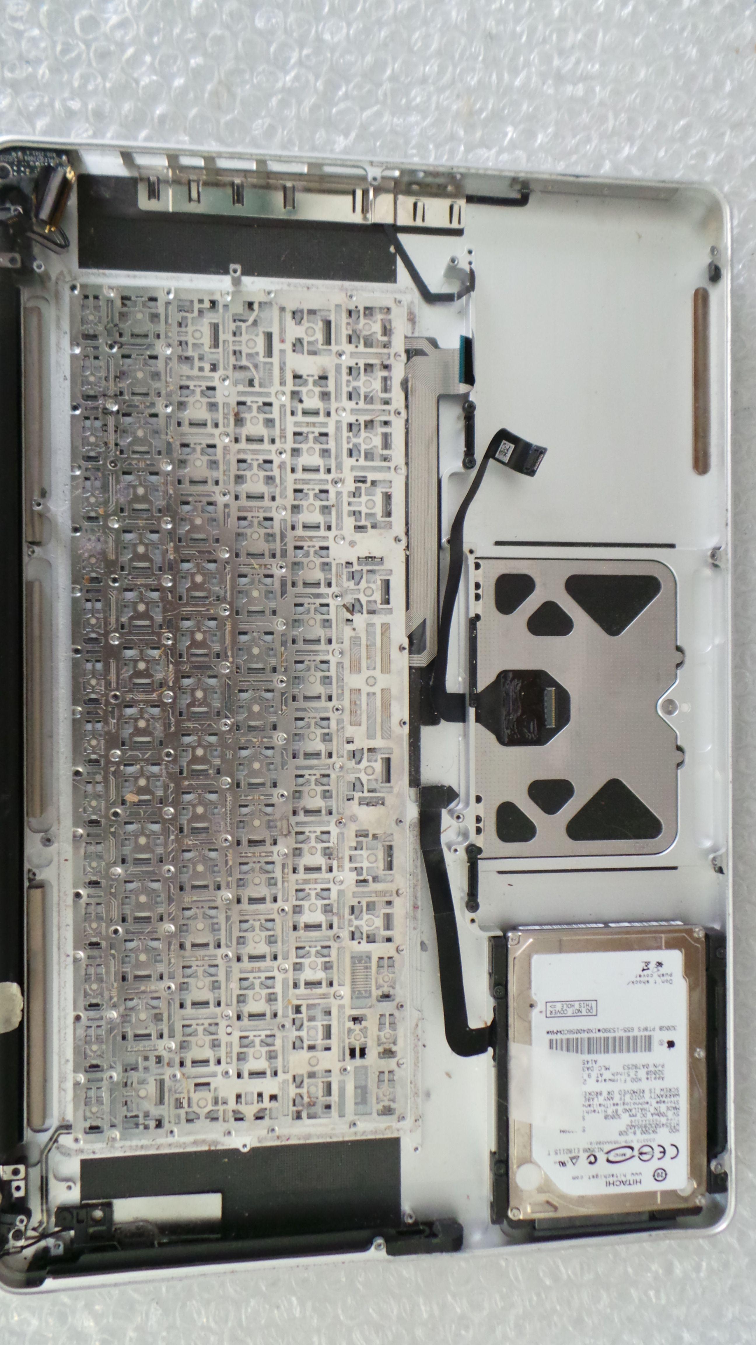 MacBook Pro (15-inch, Unibody) Liquid Damage Repair