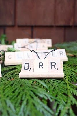 scrabble letters with gkids names