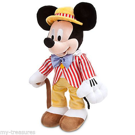 New nwt disney store plush mickey mouse fun with music day 17 club monday disney disney - Disney store mickey mouse ...