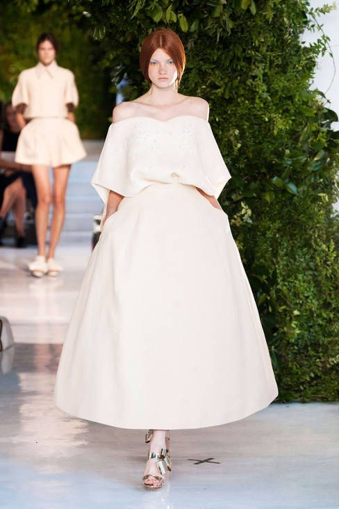 Delpozo Spring 2014 Ready-to-Wear Runway - Delpozo Ready-to-Wear Collection