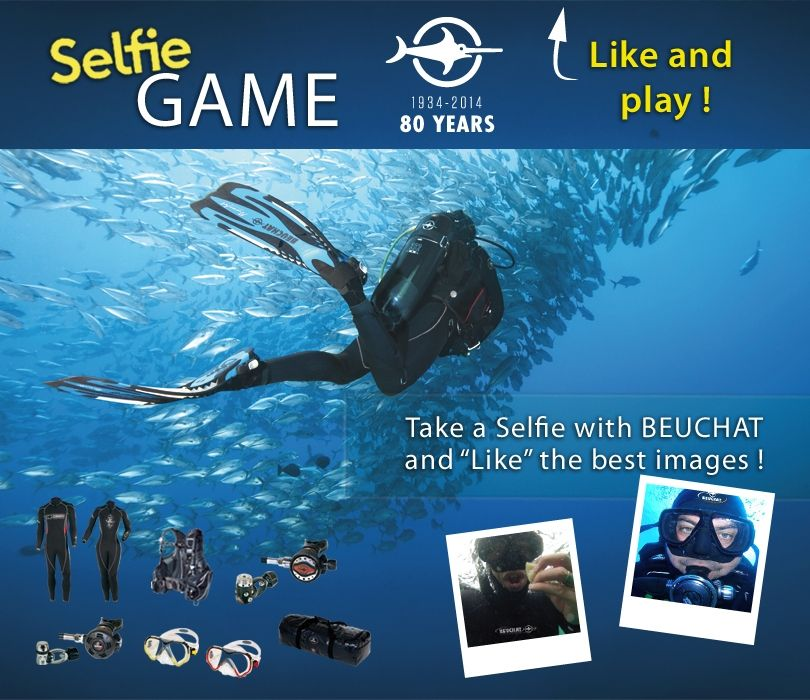 Beuchat - Facebook Selfie Photo Contest #Socialshaker