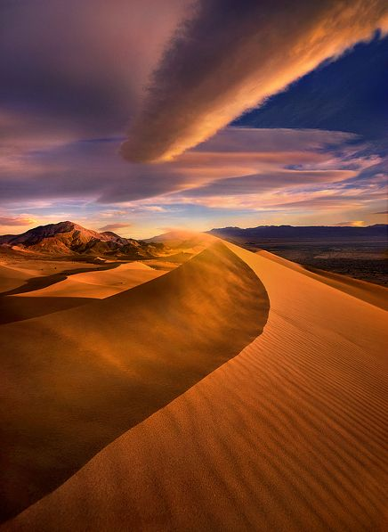 """Wind Power"" - Marc Adamus --Hope to shoot the dunes one day in Death Valley"