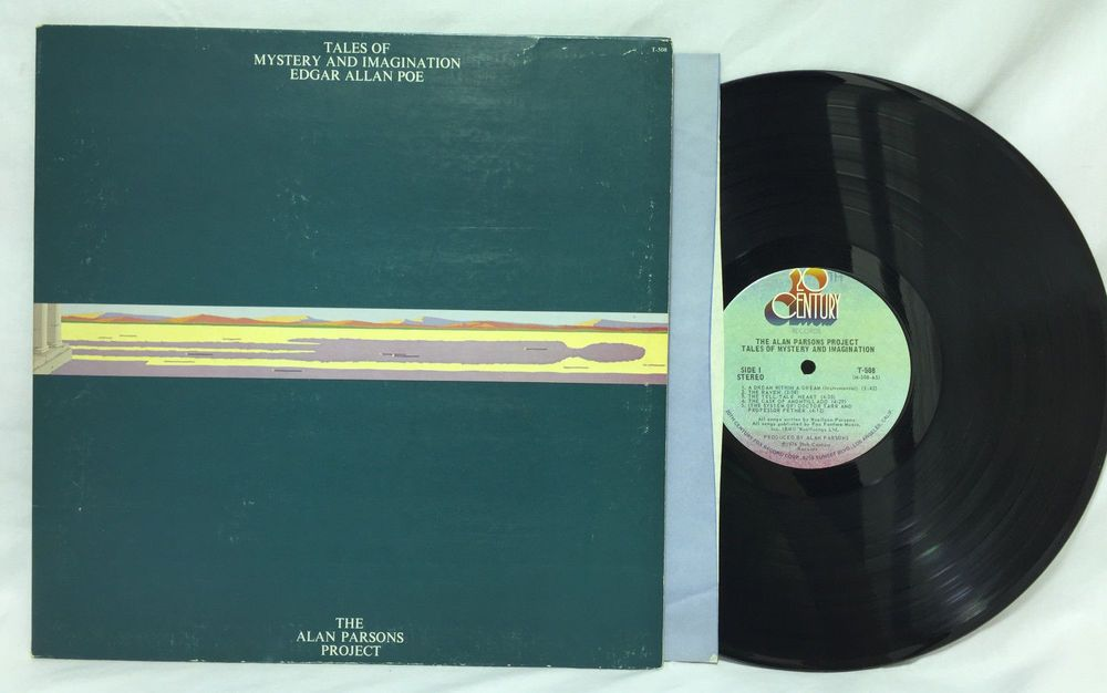 Alan Parsons Project Tales Of Mystery Imagination T 508 Vinyl Lp