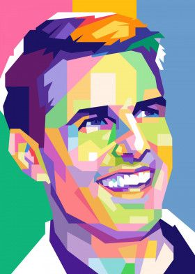 Tom Cruise | Displate thumbnail