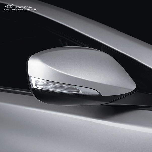 The Led Side Mirror Of The 2015 Elantra Fold Automatically And Give The Elantra That Aesthetic Touch Of Perfection Side Mirror Car Car Mirror Side Mirror