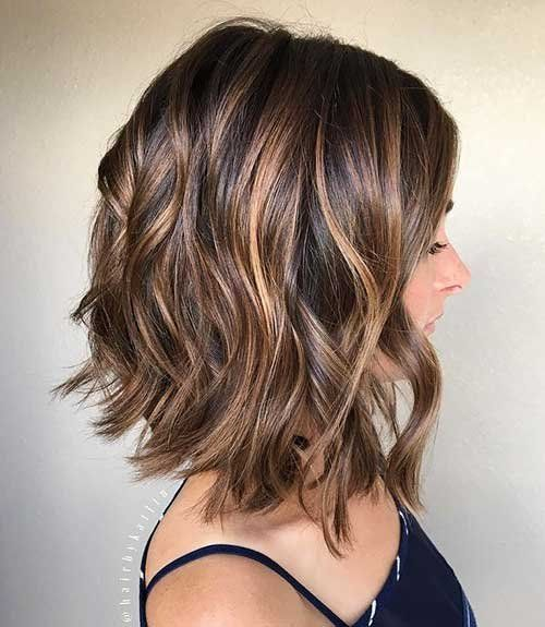 Calling All The Brunettes We Have Collected The Latest Brown Short Hair Ideas That Will Make You Look Stylish You Hair Styles Shoulder Hair Long Hair Styles
