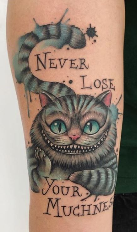 100 Alice in Wonderland Tattoos You'll Need to See - Tattoo Me Now
