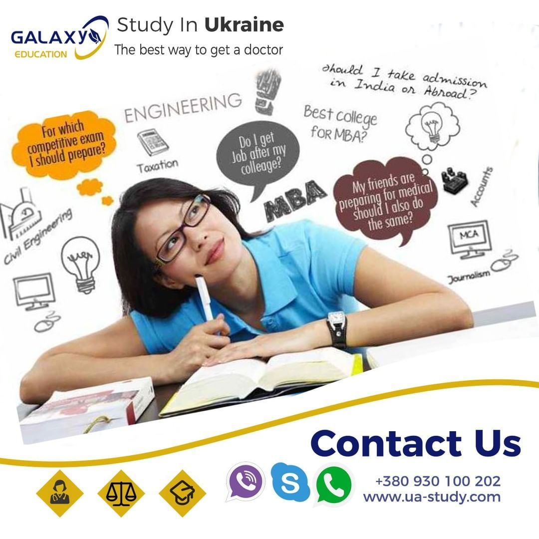 study in ukraine . . . Study without any stress in