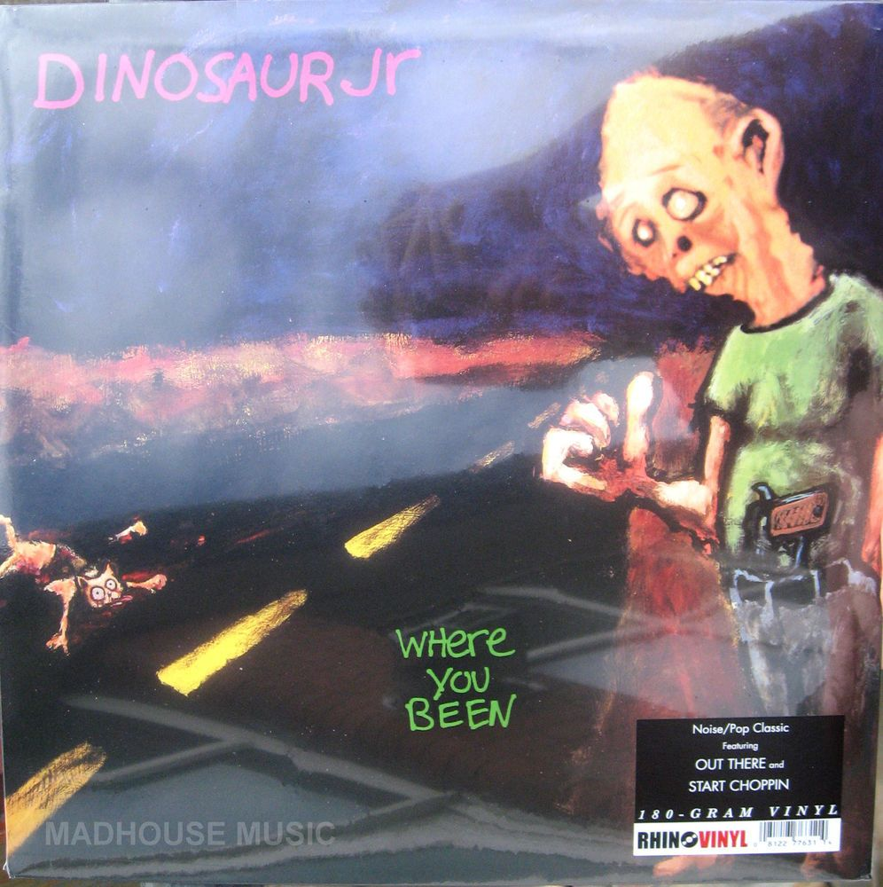 DINOSAUR JR LP Where You Been 180 Gram VINYL NEW and SEALED Rhino 2012 classic