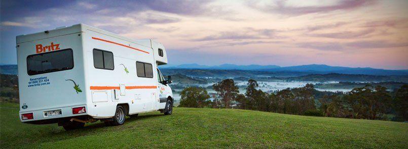 Britz 20 Cairns No One Way Fee Motorhome Rentals Campervan