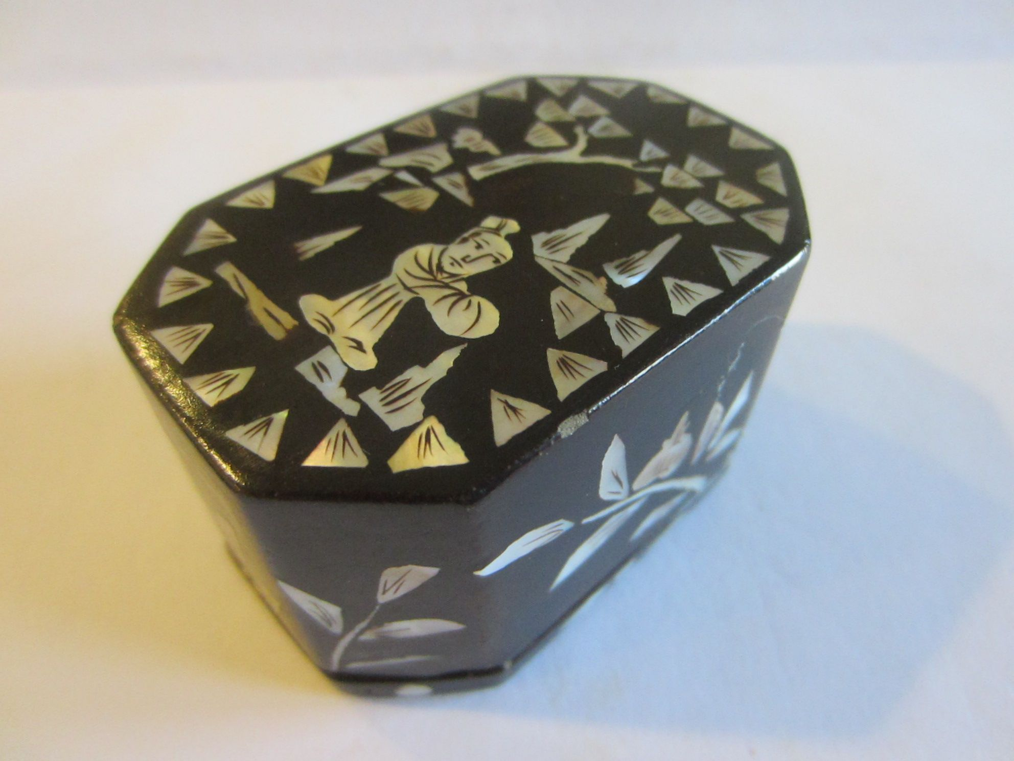 Miniature Box Oriental Decorative Objects Decorative