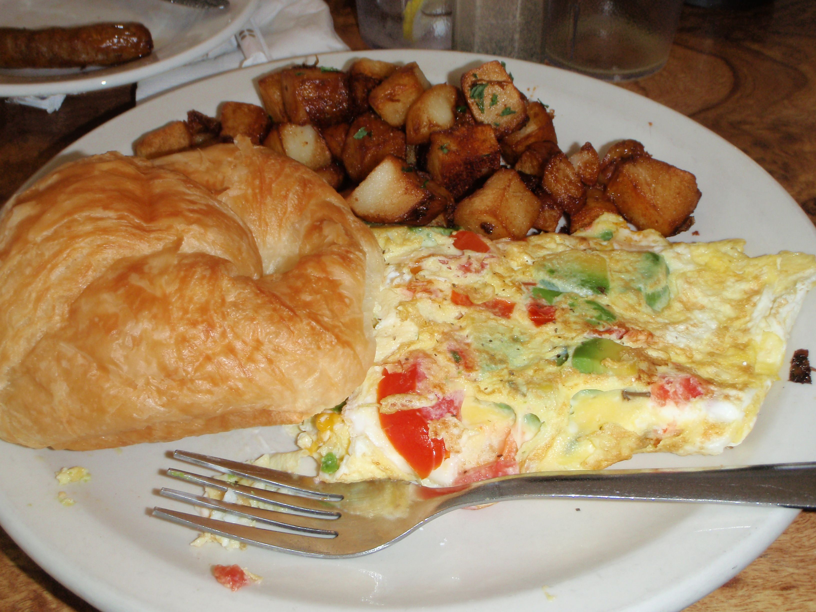 Florida Omelette at Beverly's La Croisette on St. Pete