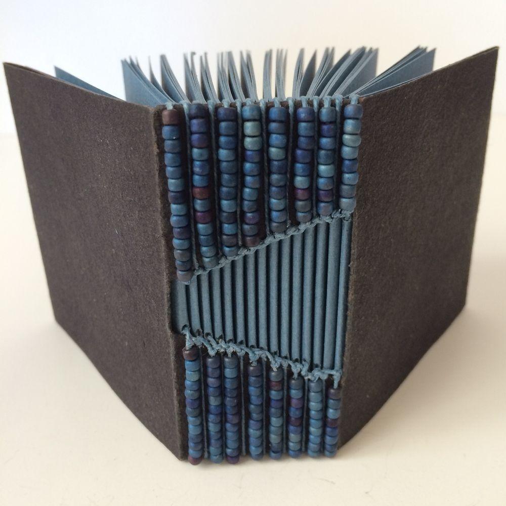 Buttonhole Binded Books By Bari Zaki Book Binding Diy Book Binding Bookbinding