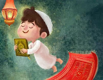 Ramadan Islamic Cartoon Islamic Artwork Ramadan Kids