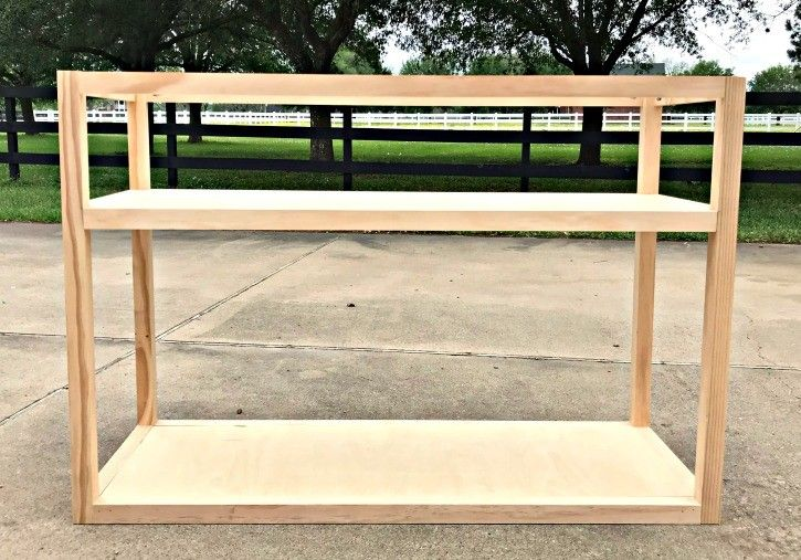 Beautiful diy console table plan with drawers diy