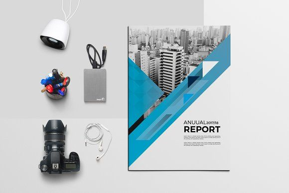 Annual Report Brochure By Graphicgrape On Creativemarket