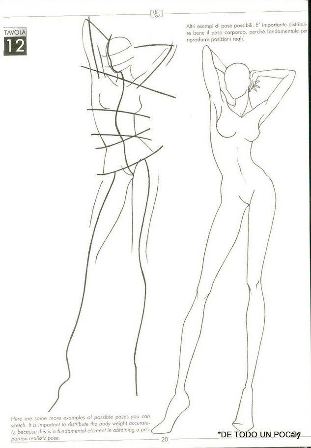 Fashion pose | Posture drawing | Pinterest | Modedesign ...