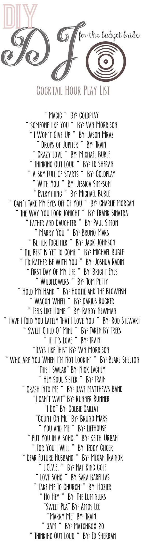 Perfect Wedding Songs For Each Part Of Your Big Day Postris My