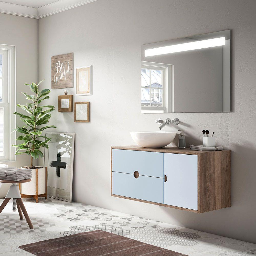 Decora Tu Baño A La última Con Los Diseños Más Sencillos En Tonos Claros Y Consigue Un Baño Como Este Muebles De Lavabo Muebles De Baño Muebles Auxiliares Baño