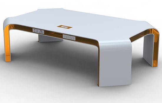 mesa-cafe-tecnologica Amazing Objects Pinterest Café y Mesas - mesas de centro de diseo