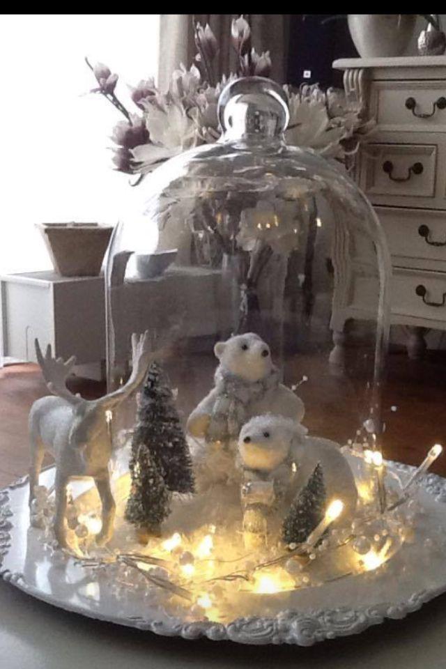 Xmas stolp ideas de decoraci n pinterest navidad - Ideas adornos navidenos ...