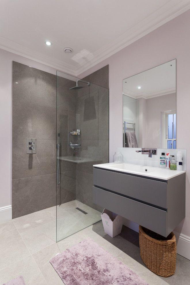 20 Amazing Floating Modern Vanity Designs | Gray vanity ...
