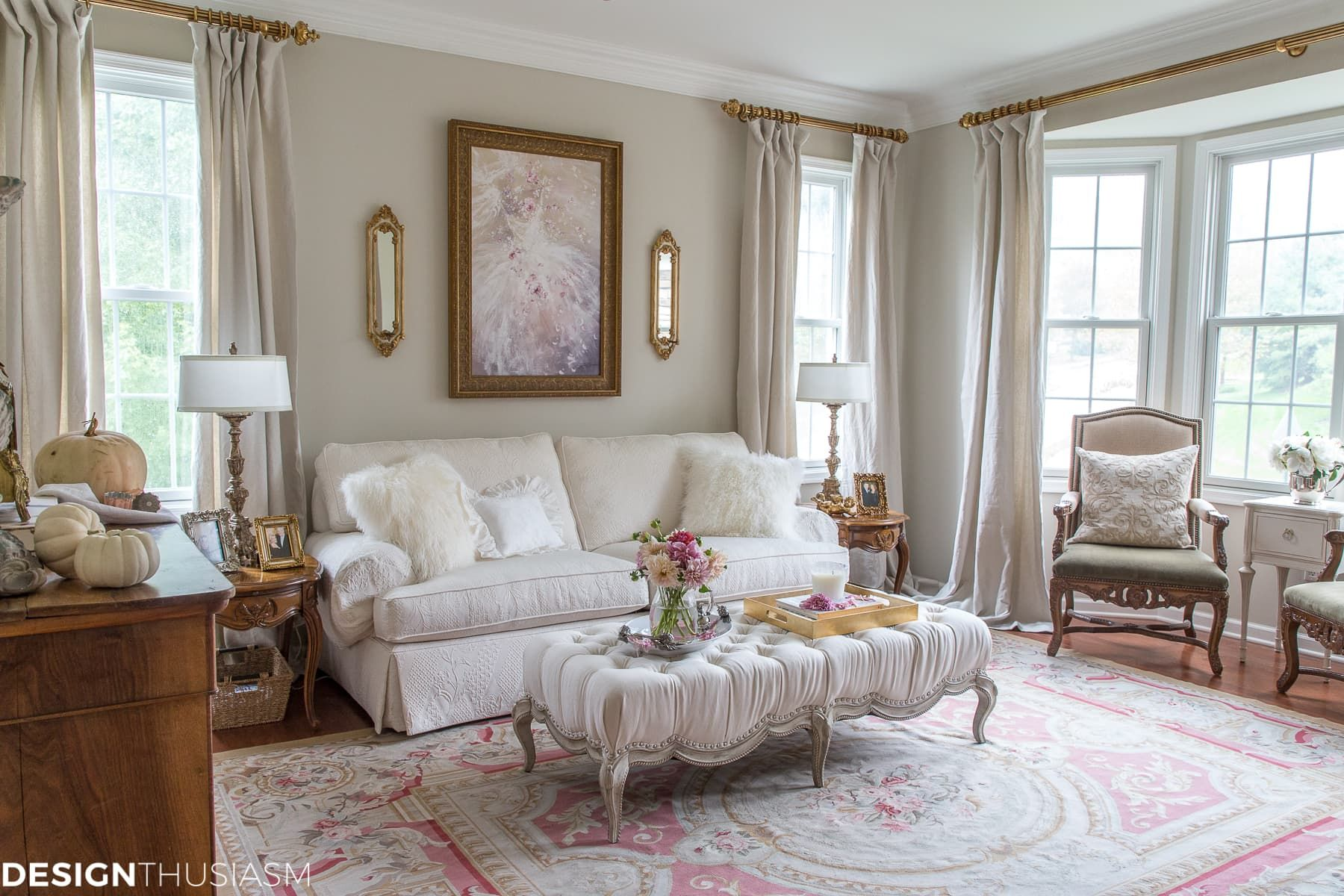 How I Modernized My French Style Living Room With 4 Simple Updates French Country Living Room French Living Room Design French Living Rooms