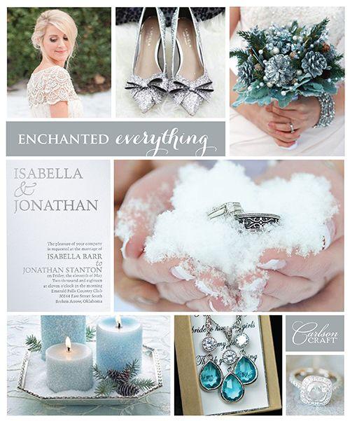 Wedding trend: winter wonderland wedding   Life Should be Celebrated