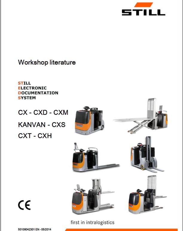 Still CX, CXD, CXM, Kanvan, CXS, CXT, CXH Order Picker