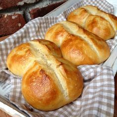 On Instagram I saw these great overnight buns and on the re …