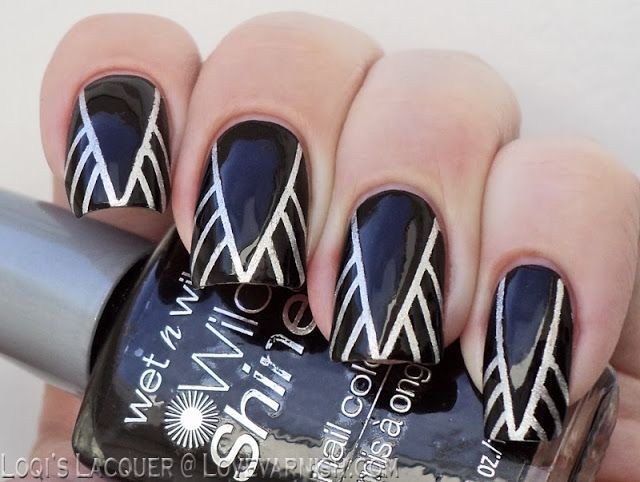 15 Easy Stripe Nails For Beginners Fancy Nails Pinterest Nail