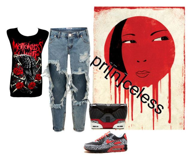 """""""Untitled #6864"""" by tailichuns on Polyvore featuring GUESS, One Teaspoon and Alexander Wang"""